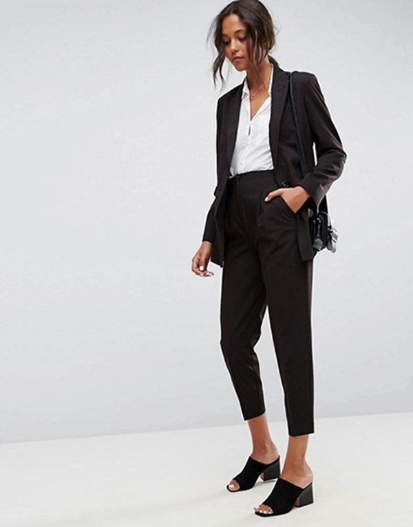 Tailored Mix &  Match Suit in Black