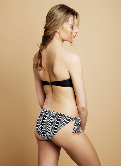 Chevron Calypso Bunny-Tie Brief