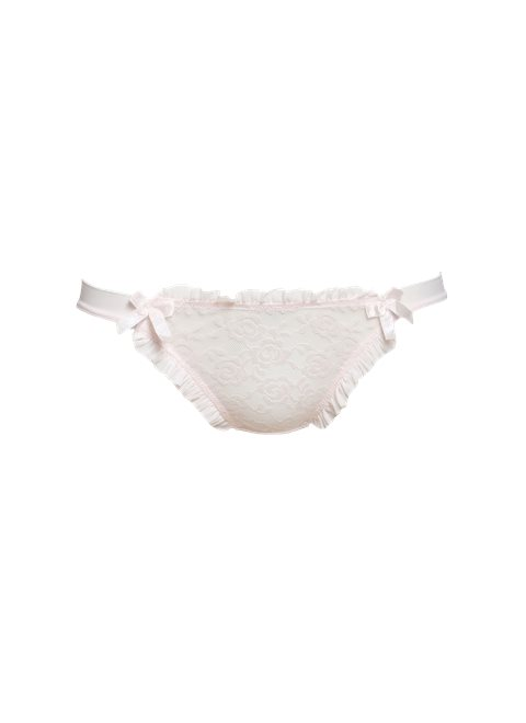 Sugar Pink Pleat Brief