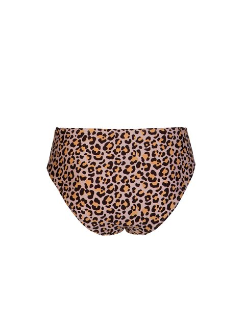 Dione Leopard Print Mid Rise Bottom