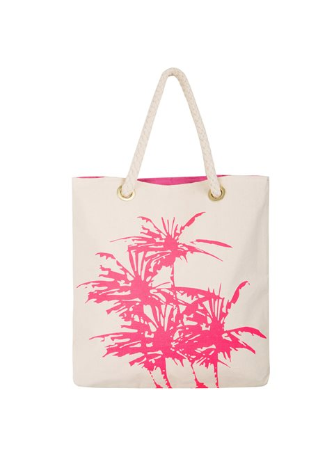 Ligea Pink Palm Bag