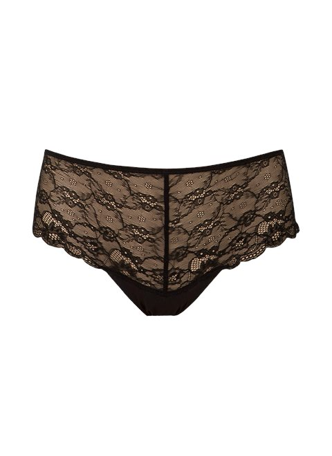 Black Lace Knickers