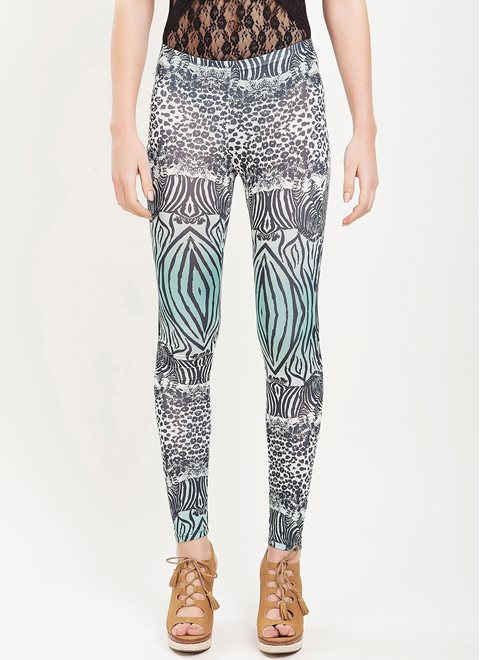 L.A. Dolls Zebra Leggings