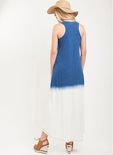 L.A. Dolls Blue Ombre Dress
