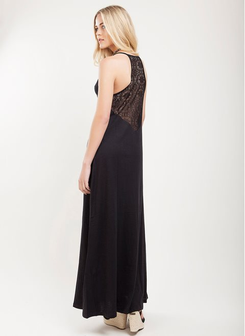 L.A. Dolls Sleek Maxi Dress
