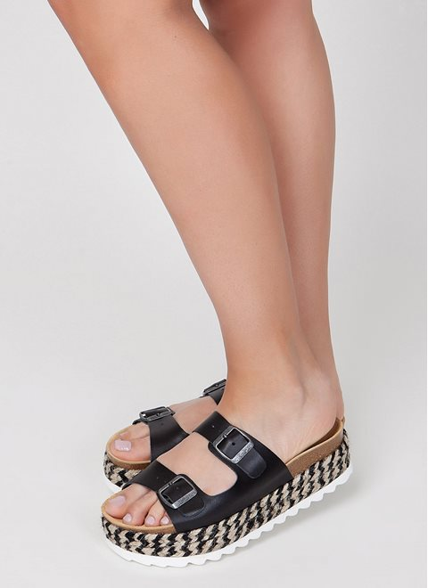 Jeffrey Campbell Black Aurelia Sandals
