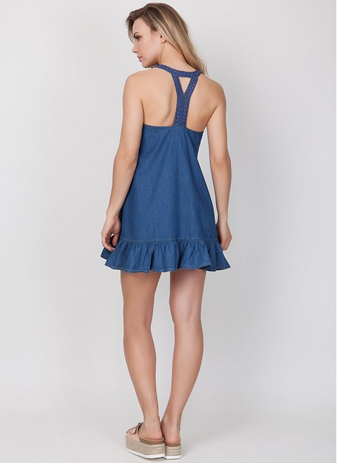 L.A.Dolls Blue Jean Dress