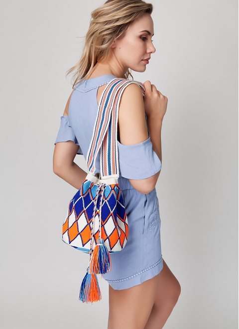 A.typik Multicolor Mochila Bag
