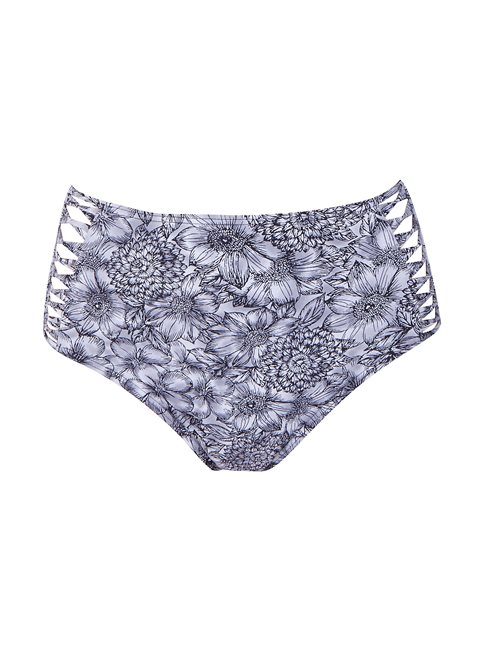 Thea Black Floral Bottom