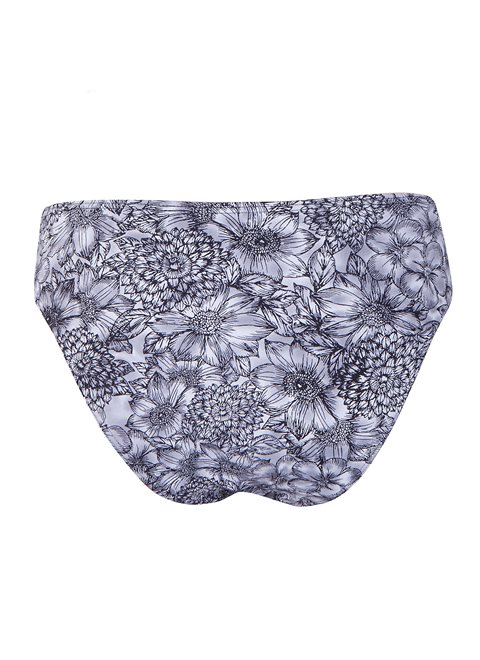 Dione Black Floral Bottom