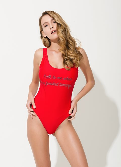 Lydia Red Onepiece
