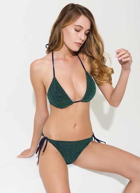 Amaryllis Green Lurex Bottom