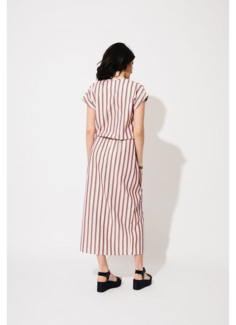 Agata Striped Dress