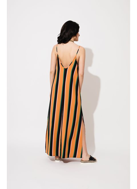 Monica Striped Dress
