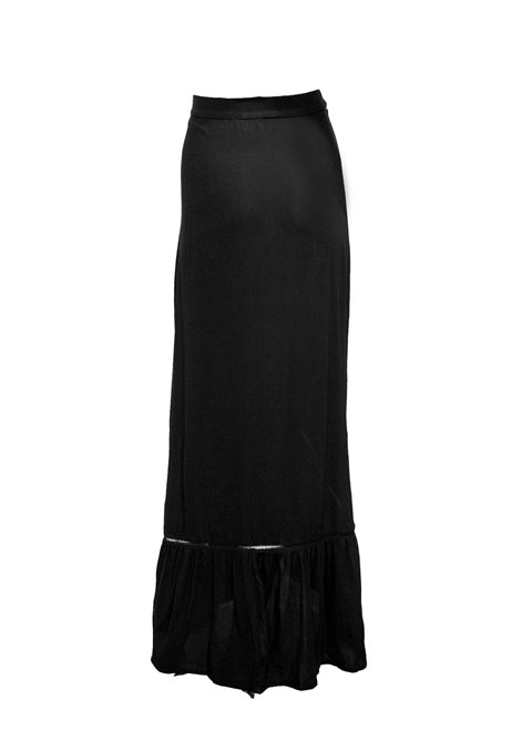 Aditi Black Maxi Skirt