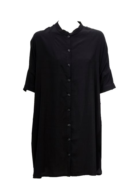 Eshana Black Shirt Dress