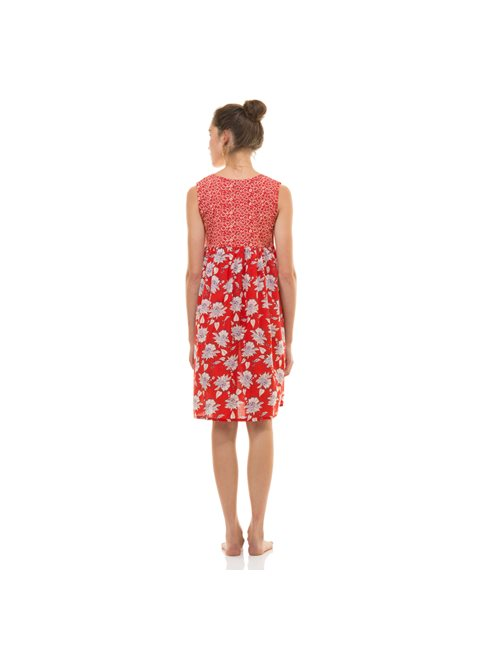 Zen Ethic Red Dress