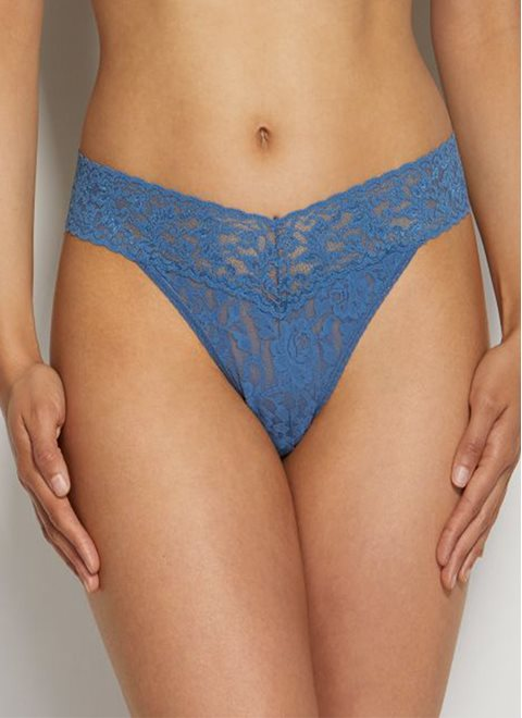 Hanky Panky Storm Cloud Lace Original Thong