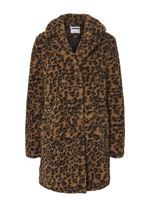 Noisy May Gabi Leopard Coat
