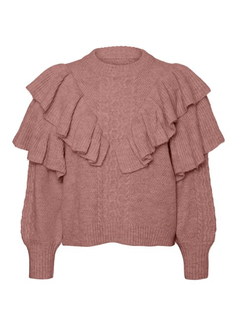 Noisy May Darling Ash Rose Knit