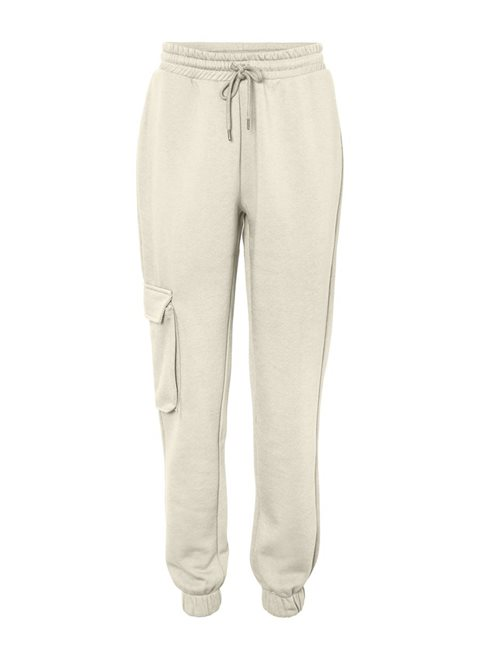 Noisy May Asya Sweat Beige Cargo Pants
